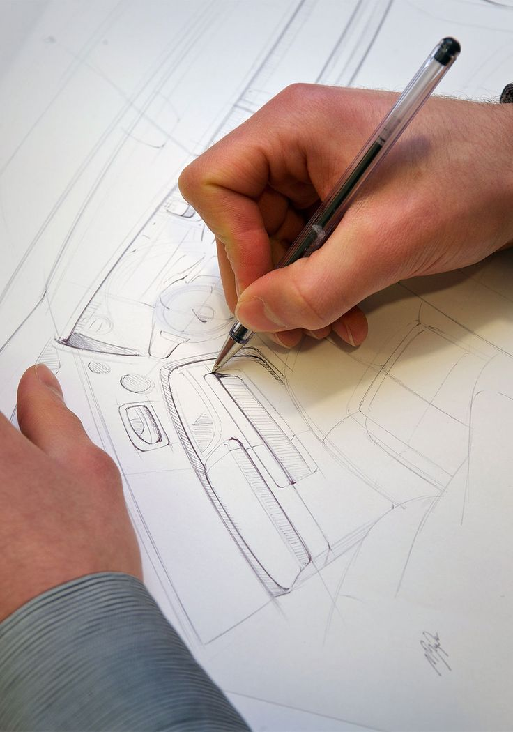 Rolls-Royce Bespoke Collection - Design Sketching