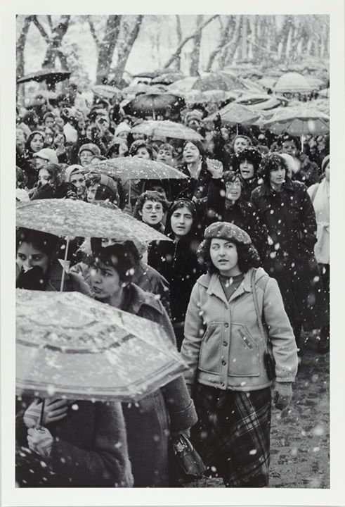 #During the Iranian Revolution, women protest Ayatollah Ruhollah Khomeini's decree requiring all women to wear a veil in public (March, 1979). [1000 × 1465] #history #retro #vintage #dh #HistoryPorn http://ift.tt/2h792YV http://ift.tt/2haUYBG via...