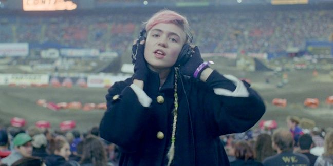 """""""A lot of the power of this video comes from dropping these very dream-like sounds and images into unexpected, male-dominated spaces."""" - This Grimes video is sublime: Grimes, Clear Clog, Musicvideo, Evan Prosofsky, Oblivion, Cinematography, Music Videos"""