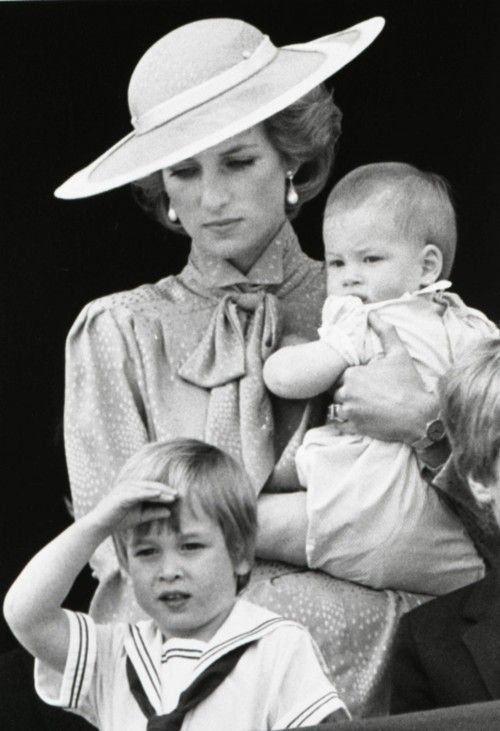 Princess Diana with Princes William and Harry. It seems like only yesterday. Yet the Princess died when the boys were teens, Prince William has a Prince and Princess of his own, at about the same ages.