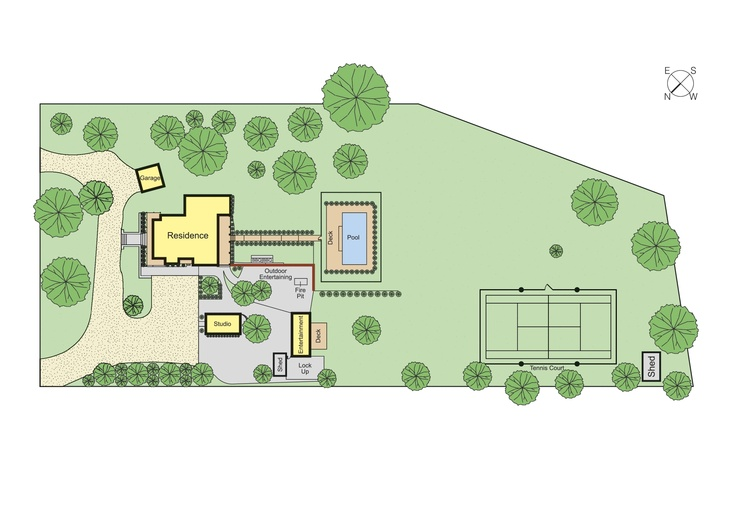 Property layout i love how there are different guest for Grow room design plans