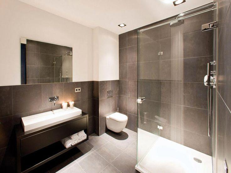 25 beste idee n over bruine badkamer op pinterest badkamer kleuren badkamer kleuren bruin en - Bruine en beige badkamer ...