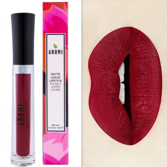Red Dahlia Matte Liquid Lipstick.  Glossy to Matte Liquid Lipstick. Maroon Lipstick.  Vegan and Cruelty-Free.  Liquid to Matte. by Aromi on Etsy https://www.etsy.com/listing/228708442/red-dahlia-matte-liquid-lipstick-glossy