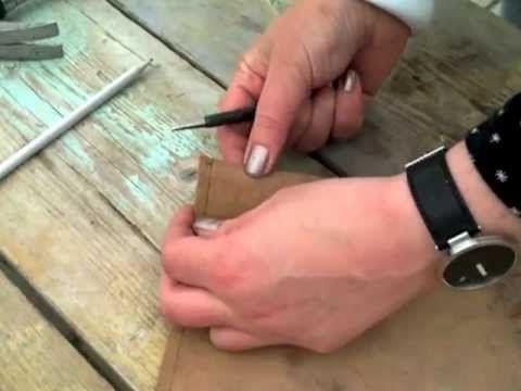 Tablet hoes / cover maken