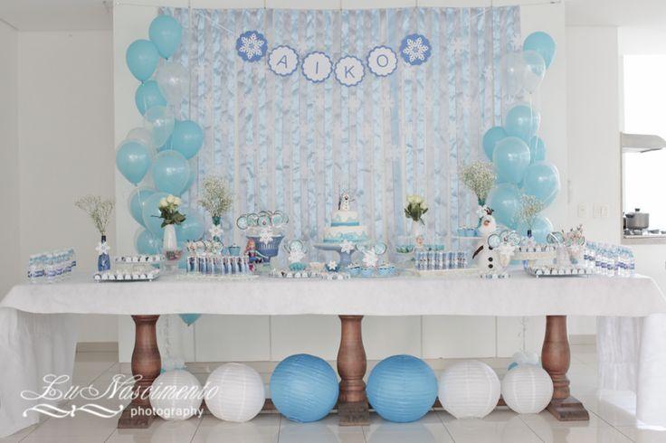 Aniversário Aiko | Aniversário tema Frozen | Lu Nascimento | Flickr