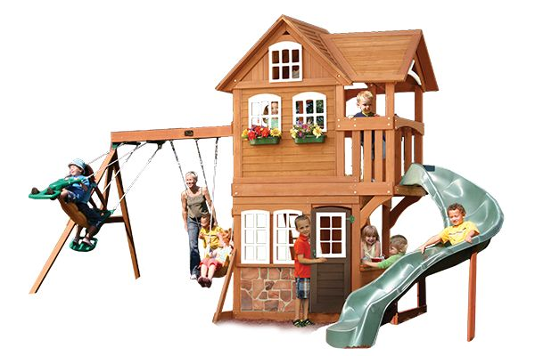 Stonefield Lodge - Products | Big Backyard Play Set
