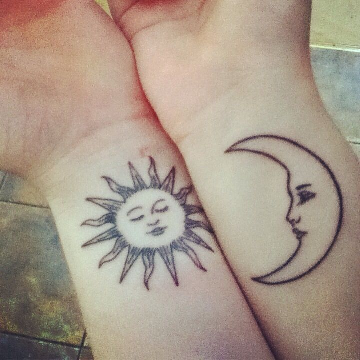 Long Distance Friendship Sun Moon Matching Bestfriend: 58 Best Tatoo De Eclipse Images On Pinterest
