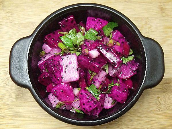 Dragon Fruit Salsa- - Good Cook #AskGoodCook