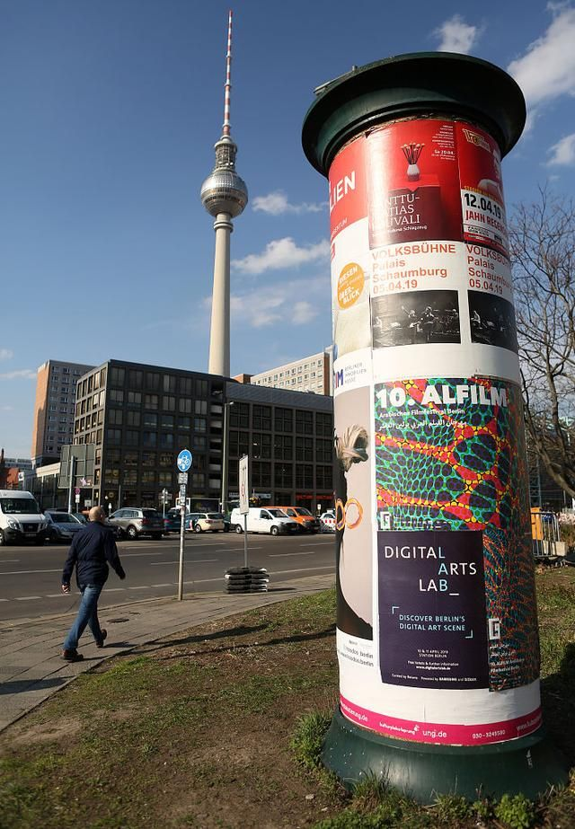 Berlin To Replace Its Advertising Columns As Traditionalists Lament Lost Cultural Heritage Berlin Heritage Concrete Column