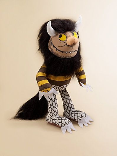 """""""Where the Wild Things Are"""" Moishe Plush Toy $11.99 by shana"""