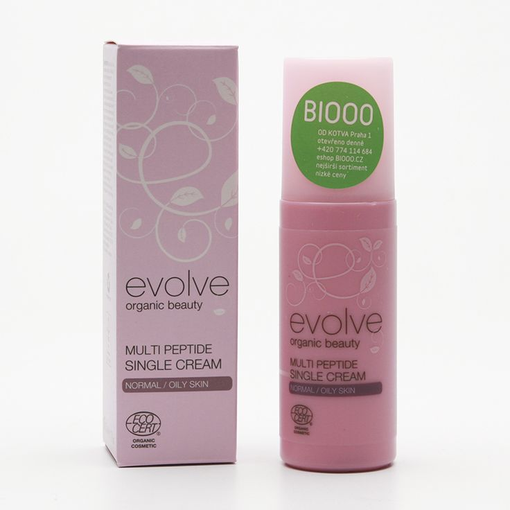 Evolve Anti-age krém pro smíšenou pleť 50 ml - denní - krémy - pleť - kosmetika - BIOOO