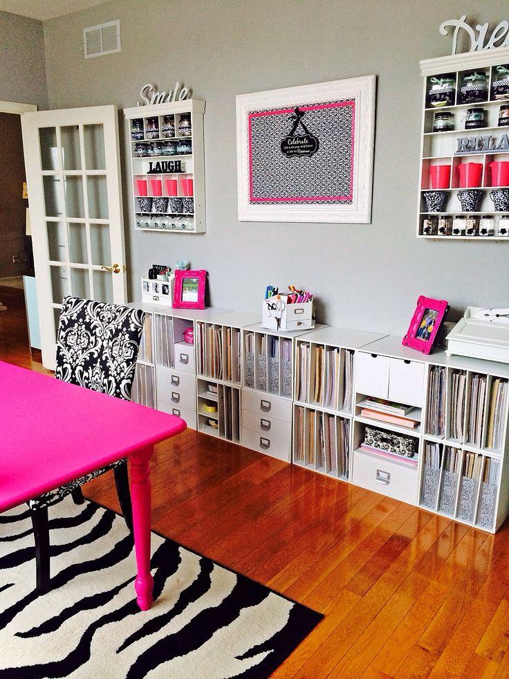 405 best Scrapbook Organization/Rooms images on Pinterest ...