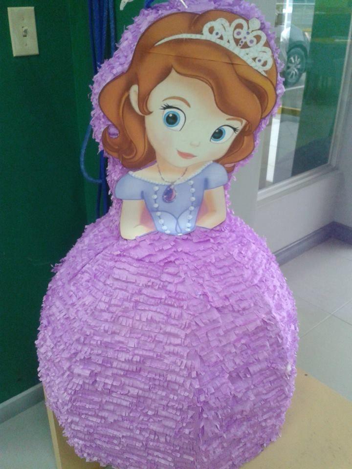 Piñata princesita sofia