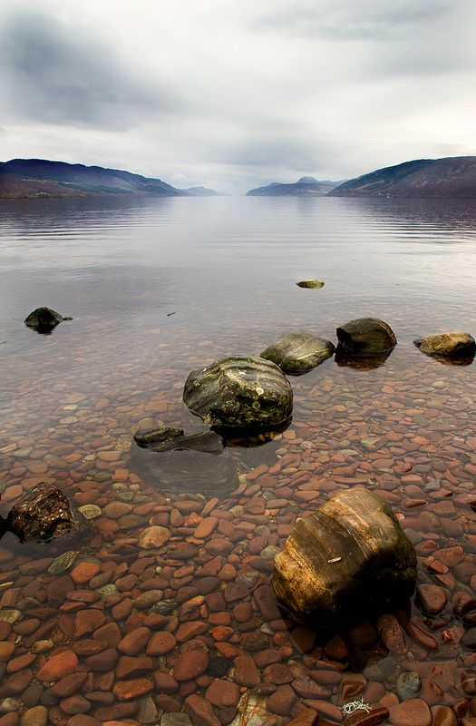 Loch Ness, Scotland wanna go look for my long lost friend Nessie. no ones seen her in a while.