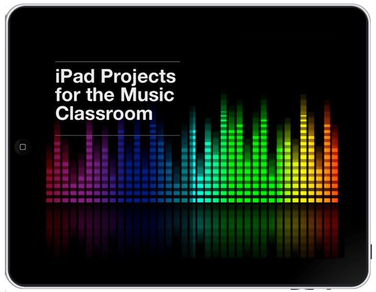 iPad Projects in the Music Classroom: a collection of 22 iPad projects with step-by-step videos - Now available (special prices for launch week end 6 November 2014)