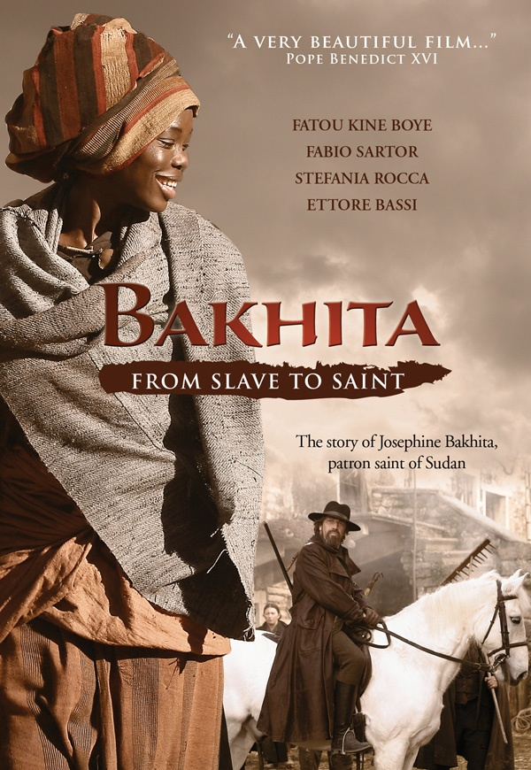 """""""A very beautiful film..."""" —Pope Benedict XVI. BAKHITA tells the story of St. Josephine Bakhita, a recently canonized saint who survived brutal treatment as a slave and eventually joined the Canossian order as a religious sister. DVD, $24.95"""