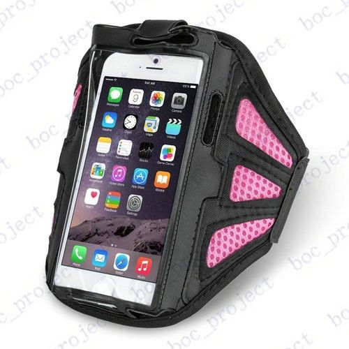 6.3 inch Net Armband Arm band Case Bag Outdoor Running Armband For iPhone 7 6s 6plus 5S Galaxy S8 S7 S6 edge S5 S4 NOTE 5 4 100p