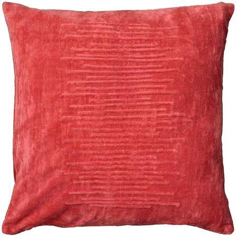 Aspen Pillow - Coral – Dorm-Decor