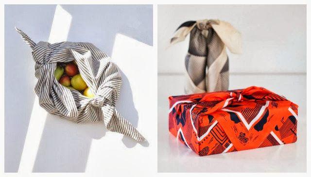 Furoshiki - Maneira Japonesa de embrulhar presentes - Pitadas da Paty