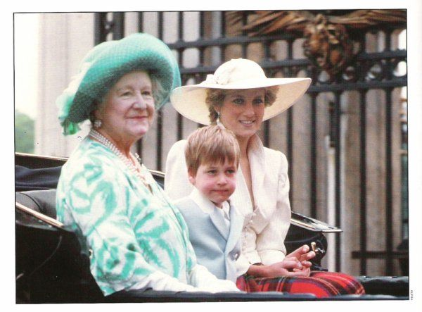 Princess Diana, June 13, 1987 in Philip Somerville