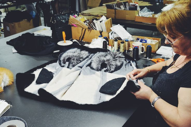 A 'behind the scenes' look of our atelier and our incredibly talented seamstresses.
