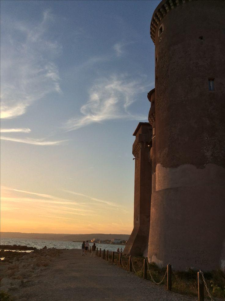 Castello di Santa Severa (Sul mare a nord di Roma)