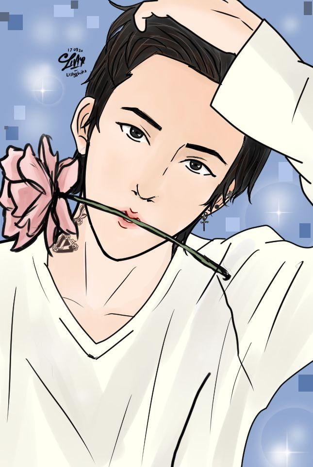 Jeonghan Seventeen Fanart