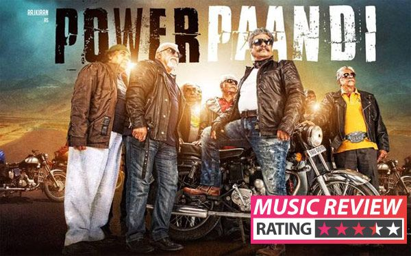 Power Paandi music review: Dhanush's directorial debut gets off to a melodious start with Sean Roldan's winning compositions #FansnStars
