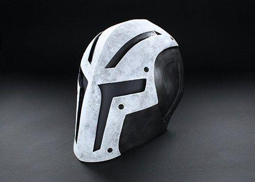 ColdBloodArt #8 Airsoft Paintball Mask - Bone