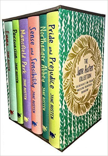 Jane Austen Collection, Deluxe Box Gift Set: Containing: Pride and Prejudice, Emma, Sense and Sensibility, Persuasion, Mansfield, Northanger Abbey: Amazon.co.uk: Jane Austen: 9789526527550: Books