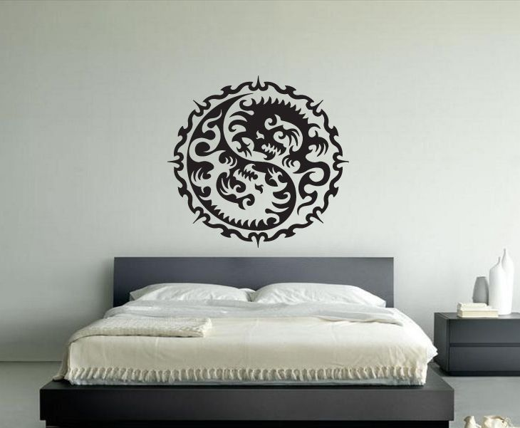 Best Skull Wall Decal Skull Tattoo Wall Stickers Images On - Wall vinyl stickerswall vinyl designs home design ideas