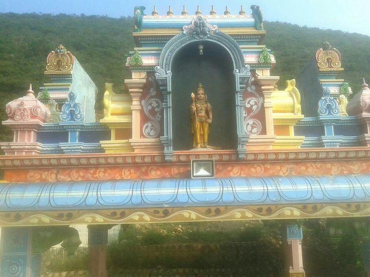 Lord Murugan at Marudhamalai , Coimbatore _/\_