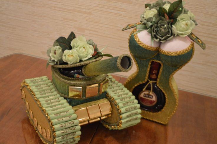 Gallery.ru / Фото #114 - Букеты из конфеток 3 - sanek-mishutka