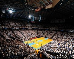 Order Photograph: White-Out at the Dean Smith Center