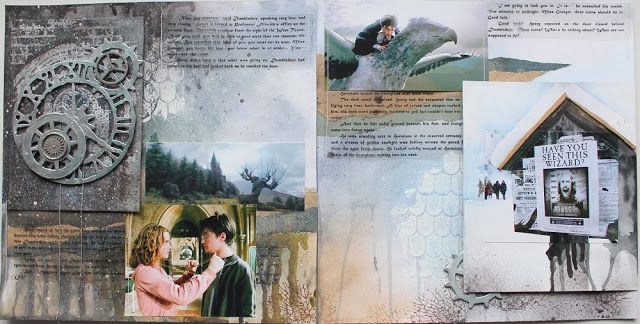 Гарри Поттер и узник Азкабана Harry Potter, mixed media layout