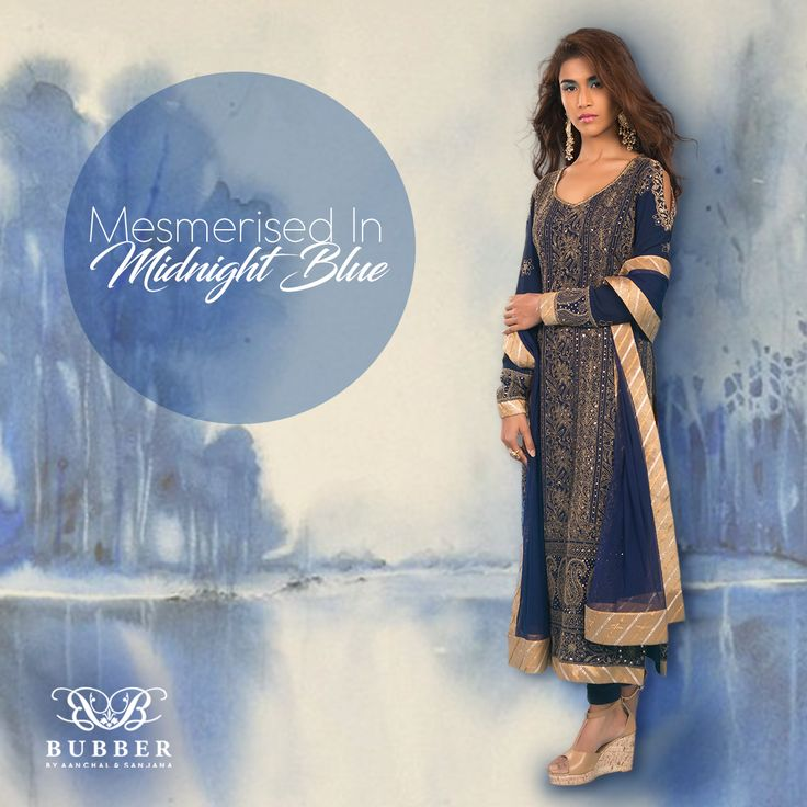With the Monsoon Gloom In The Air, 'Get Mesmerised In Midnight Blue!' Order our Navy & Ochre Chikankari & Badla Zardozi Kurta Set! Contact: 9819980846/9820709875 The Bubber Couture Store. Google map link-https://goo.gl/maps/YvPDNrLEuBv Email: info@bubbercouture.com . . . . #newcollection #ss17 #navy #chikankari #lucknowi #badla #kurta #straightcutkurta #instafashion #summer #sakura #cherryblossom #odetothecherryblossom #bubbercouture