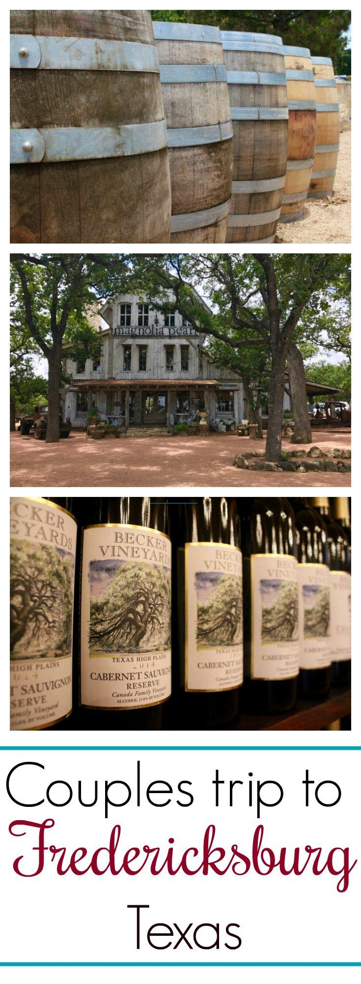 Take a couples trip to Fredericksburg, Texas. Bed and breakfast + Texas cottage + Texas wine country + things to do + Central Texas + wineries + Circle E Candles