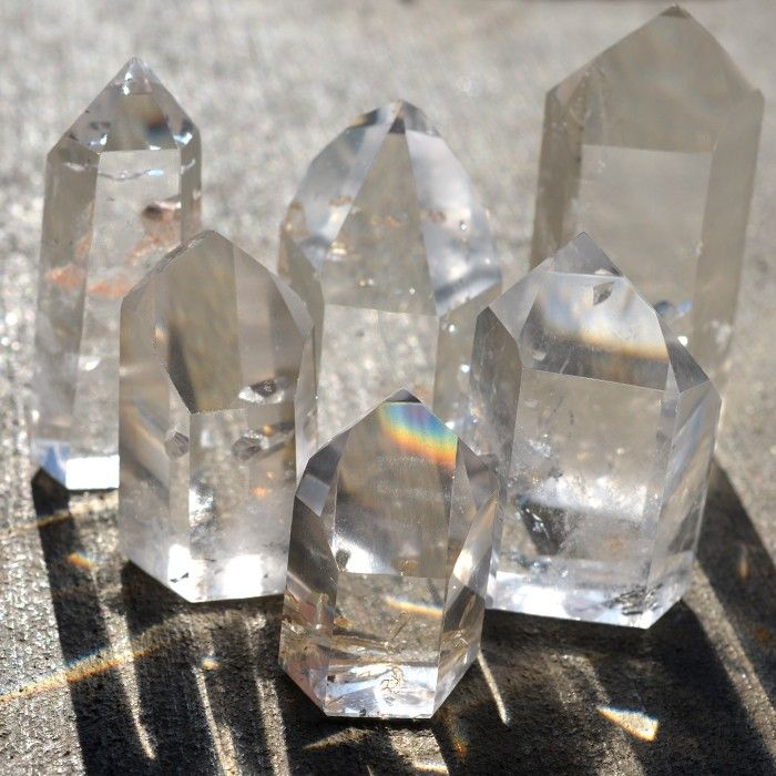 Manifestation Crystals | Rare Quartz Crystals - many of the essences I create, sit in a grid using many crystals, but always clear quartz...