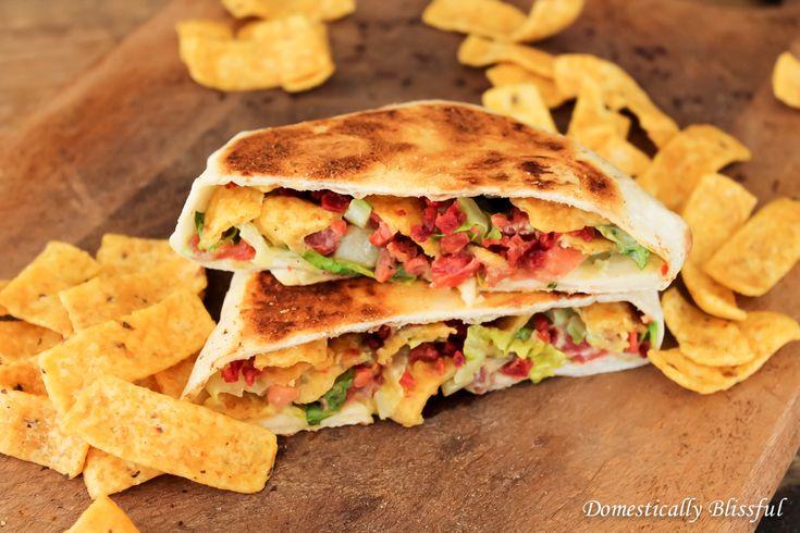 I'm not a vegetarian so I will be using bacon! Vegetarian BLT Crunchwrap Slider