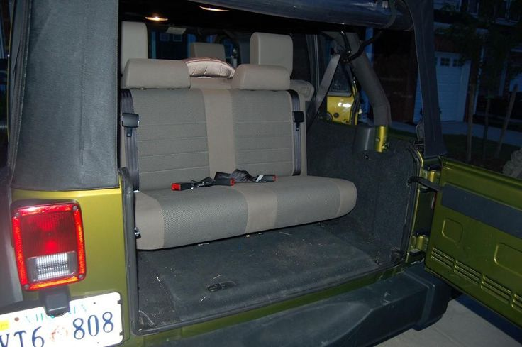 Jeep Wrangler Unlimited 3rd Row Seat >> 3rd row seats JK | Cars and Jeeps | Pinterest | Jeeps, Jeep stuff and Jeep life