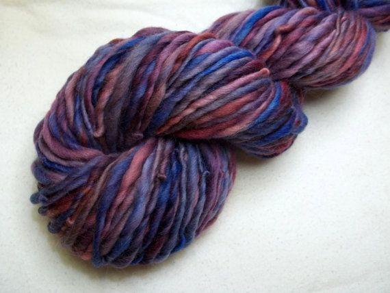 ... Thin Yarn - Sweet Berry - Waldorf Doll Hair- Knitting - Crochet
