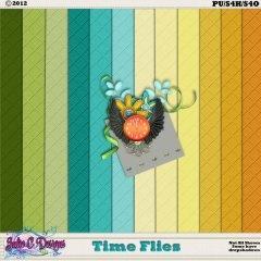 Time Flies Cardstock
