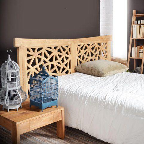 Tête de lit en teck 210 Gentong Tikamoon