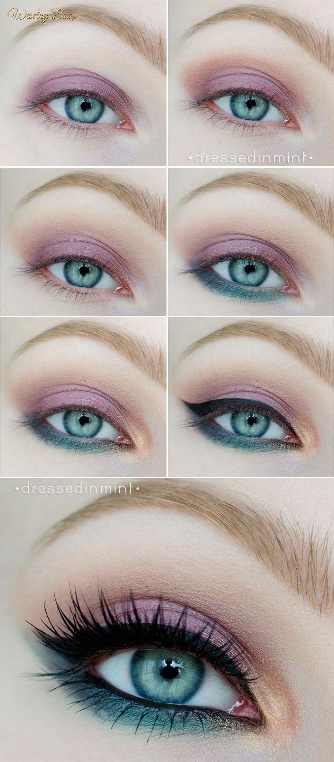 Cudny kolorowy makijaż! Idealny na wiosnę!
