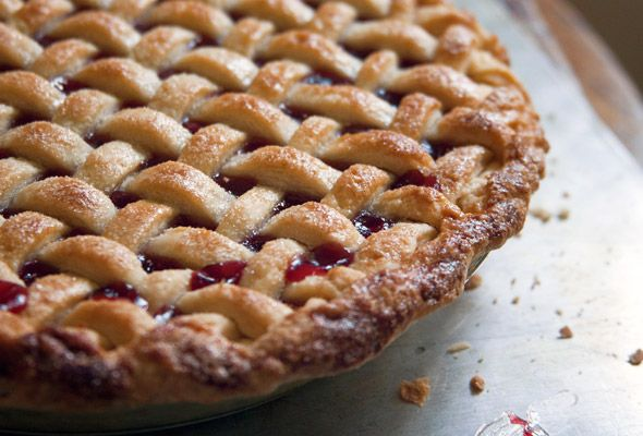 Cherry Pie from Leite's Culinaria