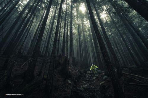 shreddermtbzine:  Mark Haimes looking bright on a dreary day in...