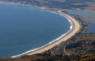 Stinson Beach, Marin County CA- Bill and I were married here in 1982 at my parents' home on Seadrift Rd.
