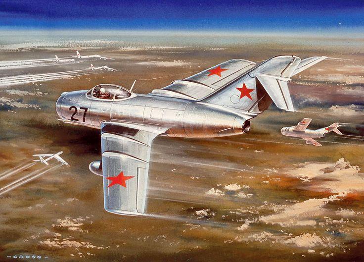 Roy Cross Mig-15