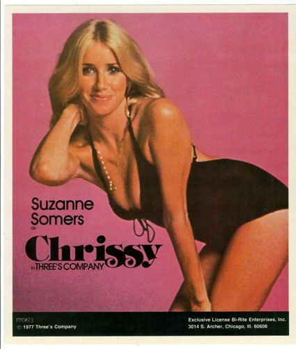 Memorabilia: Suzanne Somers Posters 'Crissy Snow' three's company photography Susanne Sommers