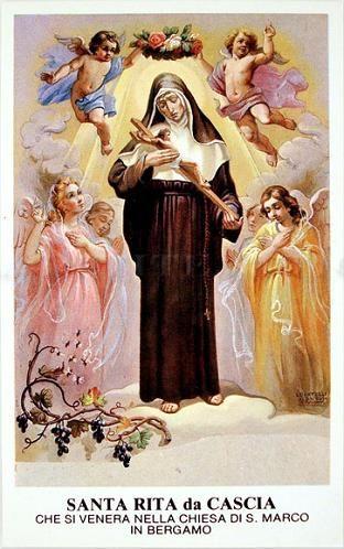 Holy Card Santa Rita